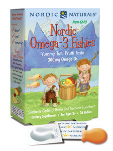 Nordic Omega-3 Fishies - Inspired Health Apothecary