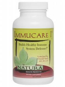 Immucare I - Inspired Health Apothecary - Immune System Support, Cough, Flu, Upper Respiratory Tract Infection