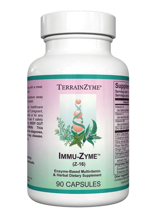Immu-Zyme-Apex Energetics- Inspired Health Apothecary- Immune Health, Cold, Flu