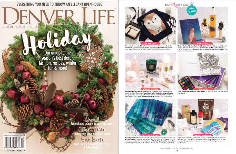 Embrazio Tasca Crossbody Bag in Denver Life Magazine's Holiday Gift Guide