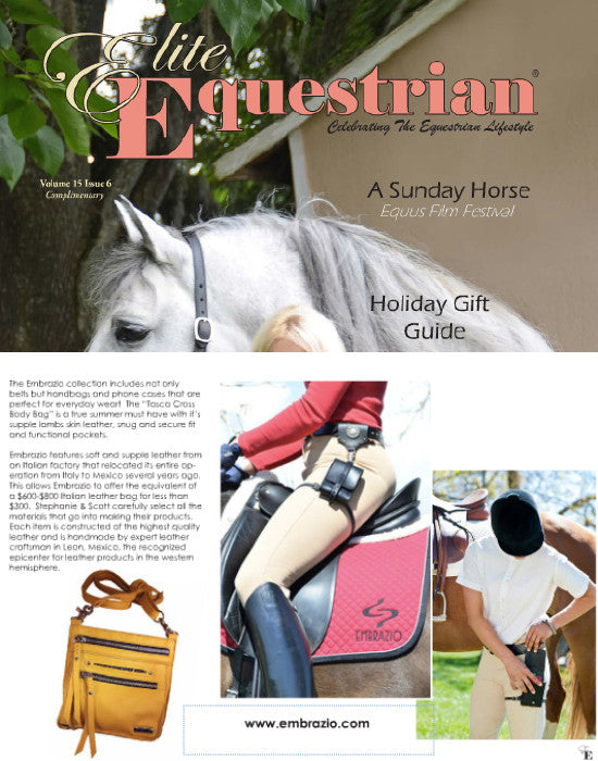 Equestrian Lifestyle Gifts?  Elite Equestrian Recommends Embrazio Bags