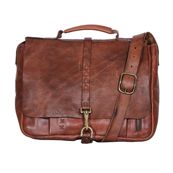 Your Leather Messenger Bag Says It All