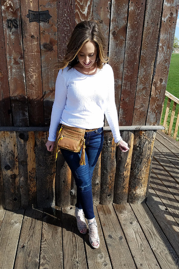 Crossbody to Hip Bag: Mindie with A Stylish Closet