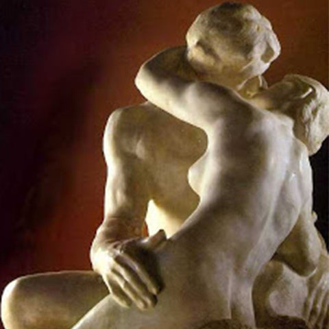 The Kiss, Auguste Rodin, 1889