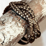 Handmade genuine leather bracelets