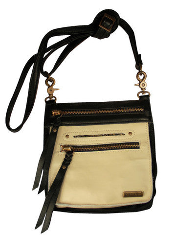 Small Leather Cross Body Bag and Hip Bag