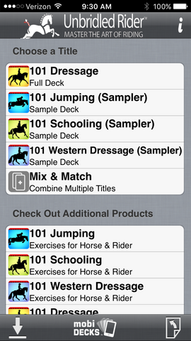 Unbridled Rider Apps