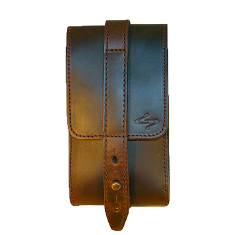 Coffee Piatto Leather Phone Holster