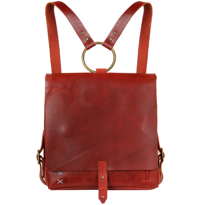 <b>Revival</b> Small Handmade Leather Backpack