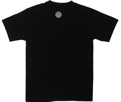 Black Abstract Screen tee