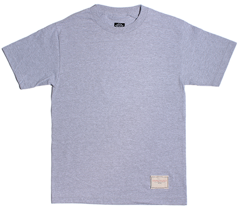 Heather Grey Rose tee