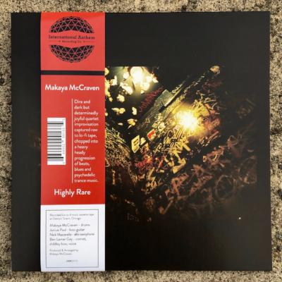 Highly Rare - Black & Blood Red Color Vinyl (New LP + Download)