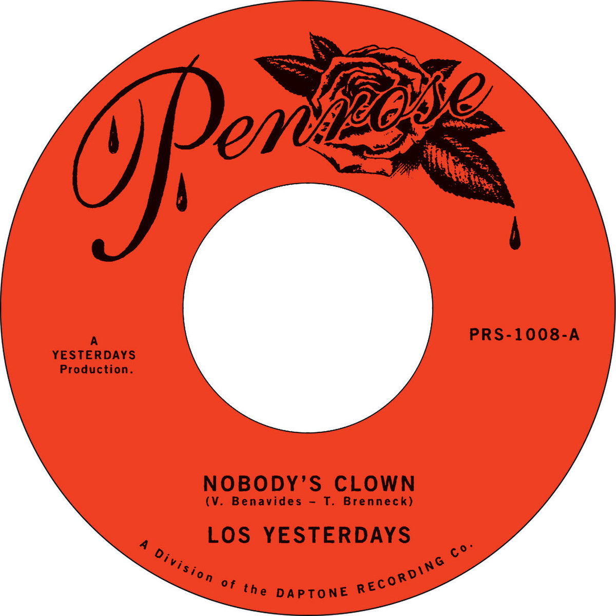 "Nobody's Clown (New 7"") *PREORDER*"