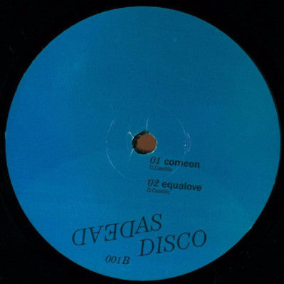 "Dead As Disco 001 (New 12"")"