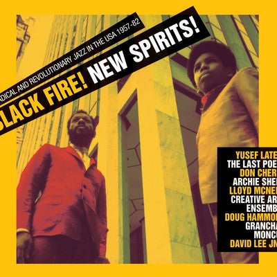 Black Fire! New Spirits! Radical And Revolutionary Jazz In The U.S.A. 1957 - 1982 (New 3LP + Download)
