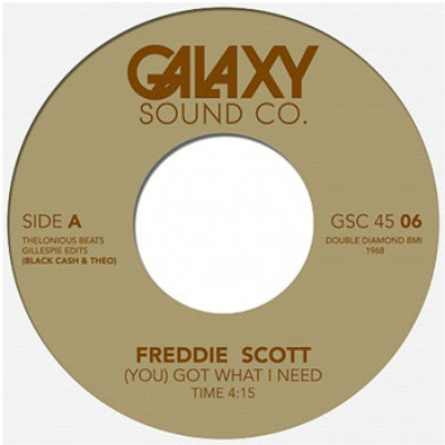 "(You) Got What I Need / Getting Nasty (New 7"")"