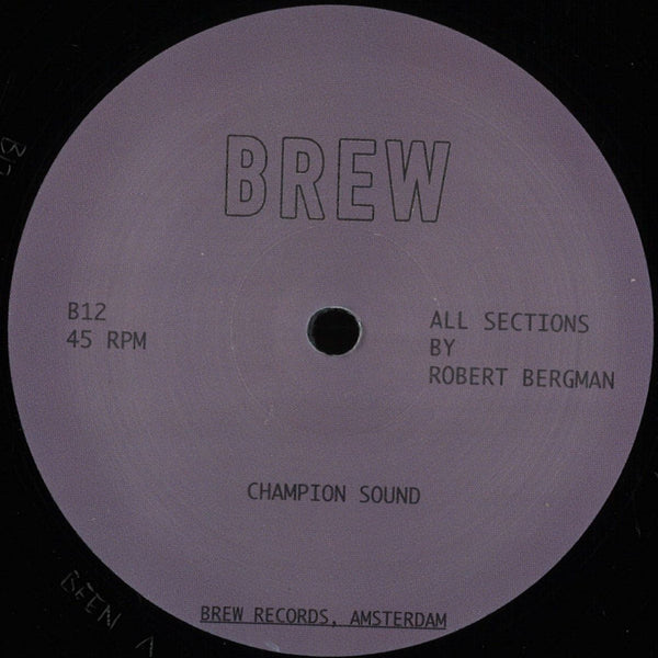 "Champion Sound (New 12"")"