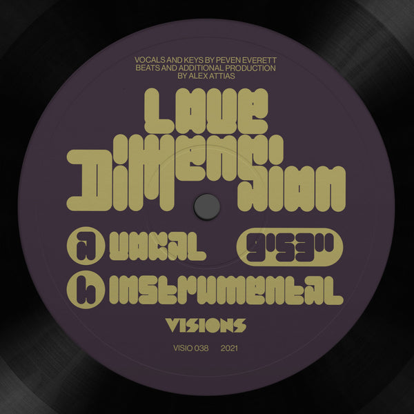 "Love Dimension (New 12"")"