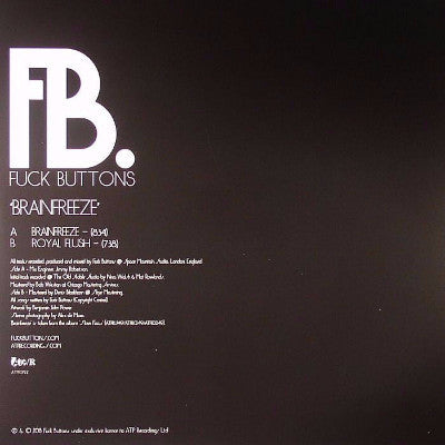 "Brainfreeze (New 12"")"