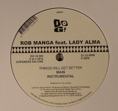 "Things Will Get Better (Used 12"")"