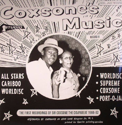 The First Recordings Of Sir Coxsone The Downbeat 1960-62 - Record B (New 2LP + Download)