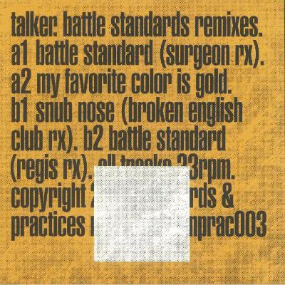 "Battle Standards Remixes EP (New 12"")"