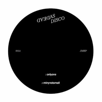 "Dead As Disco 003 (New 12"")"