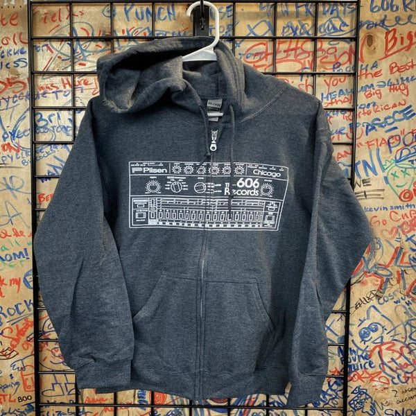 Drum Machine Zip Up Hoodie