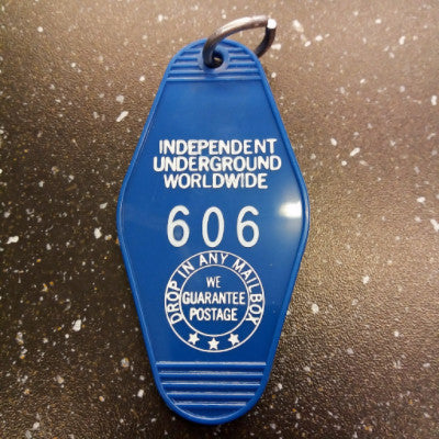 606 Independent Keychain (Blue)