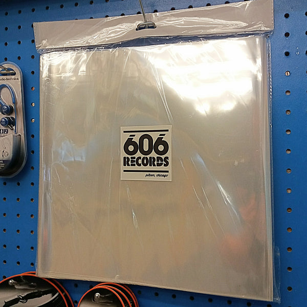 "100 Protective 12"" Sleeves"