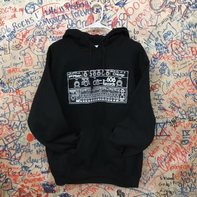 Drum Machine Hoodie- Black