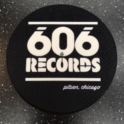 606 Records Slipmat 7""