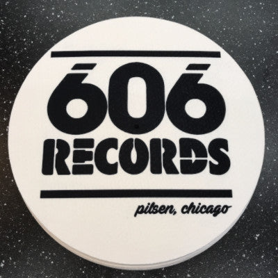 606 Records Slipmat 12""