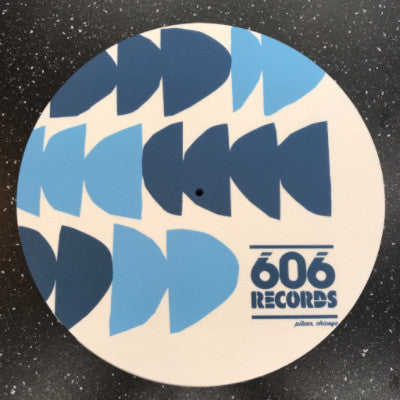 606 Records Wall Slipmat 12""
