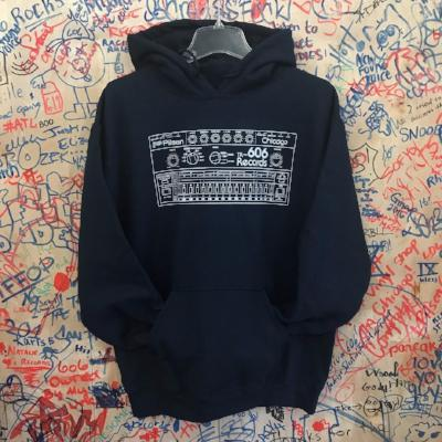 Drum Machine Hoodie- Navy