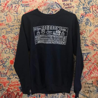 Drum Machine Sweatshirt-Navy