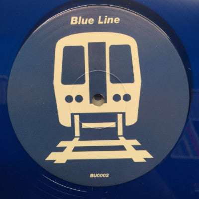 "Chicago Edits - Blue Line (New 12"")"