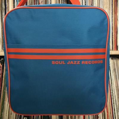 Record Bag - Record Bag - Marine Blue/Orange 12