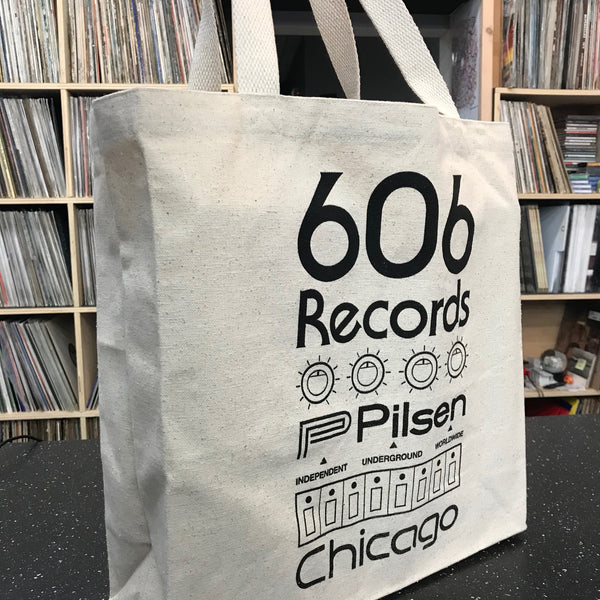 606 Records Tote - Deep (TR-606)