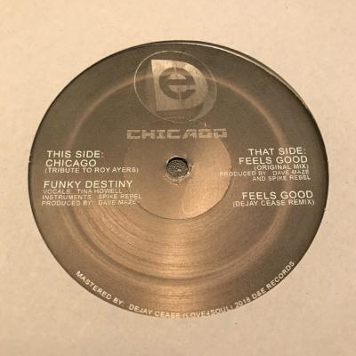 "Chicago/Funky Destiny/Feels Good (New 12"")"