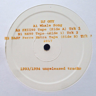 "1993/1994 Unreleased Tracks (New 12"")"