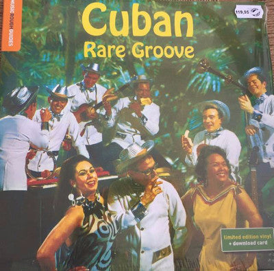Rough Guide To Cuban Rare Groove (New LP)