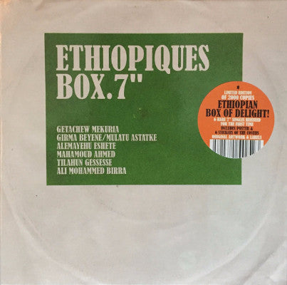 "Ethiopiques Box (New 6 x 7"" Box Set)"