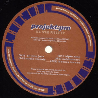 "Da SSM Filez EP (New 12"")"