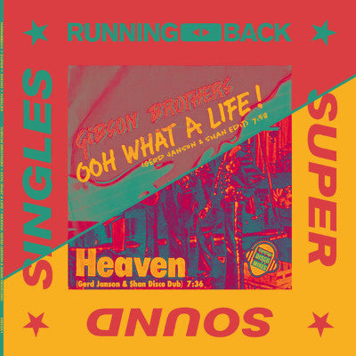"Ooh What A Life / Heaven (Gerd Janson & Shan Versions) (New 12"")"