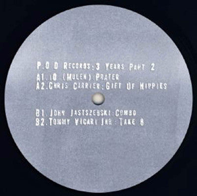 "P.O.D Records : 3 Years Part 2 (New 12"")"