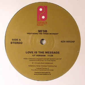 "Love Is The Message (New 12"")"
