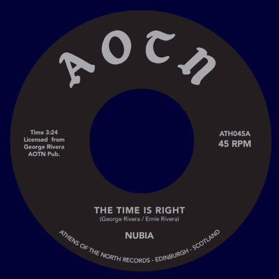 "The Time Is Right (New 7"")"