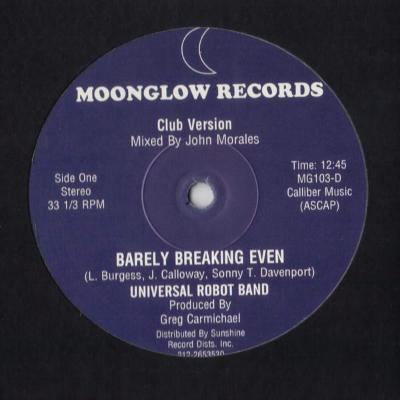 "Barely Breaking Even (New 12"")"