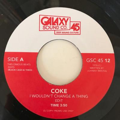 "I Wouldn't Change A Thing / Hit Or Miss (New 7"")"